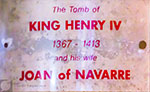 Henry IV tomb