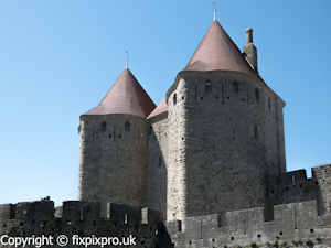 Carcassonne towers