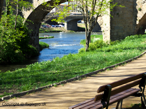 Carcassonne river
