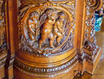 Sideboard carving