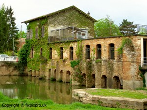 Moissac water mill