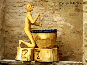 Moissac wood carving