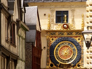 Rouen great clock