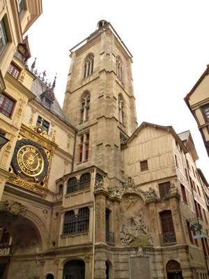 Rouen great clock tower